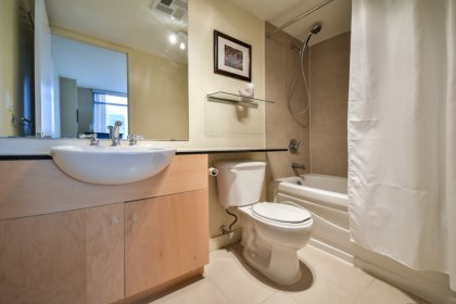 Master Ensuite With A 4-Piece & Granite Counter Tops.