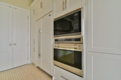 Luxurious Designer Bellini Custom Kitchen Cabinetry With Sub-Zero, Miele & Wolf Stainless Steel Appliances,