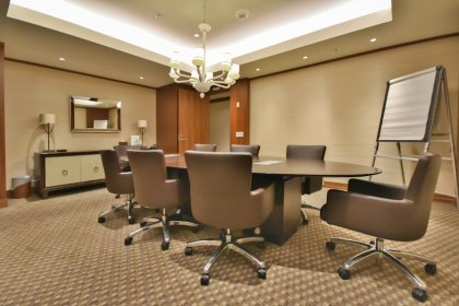 The Exclusive Residents-Only 21st Floor Board Room.