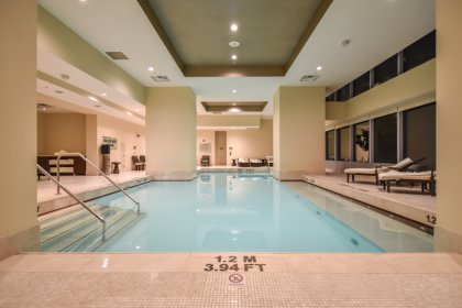 Direct Access To The Indoor Pool and Jacuzzi Located On The 5th Floor.