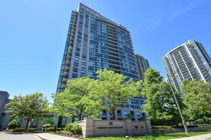 Welcome To The Spectrum Condominiums at 28 Harrison Garden Blvd.
