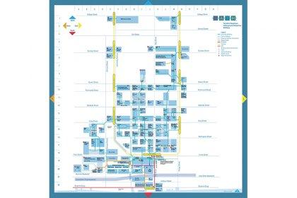 Underground P.A.T.H. Map.