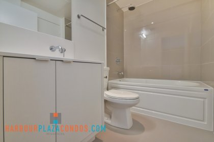 Main Bath With A 4-Piece & Semi-Ensuite Into The Master Bedroom.
