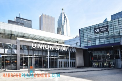 2nd Floor Skybridge Access To The P.A.T.H. Underground Into Union Station.