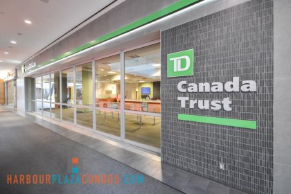 2nd Floor Skybridge Access To Maple Leaf Square Mall - TD Canada Trust Bank.