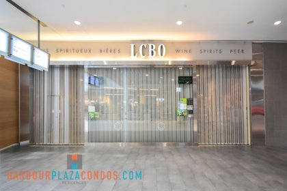 2nd Floor Skybridge Access To Maple Leaf Square Mall - L.C.B.O. Retailers of Beverage Alcohol Including Wine, Spirits & Beer - Ground Floor Access.