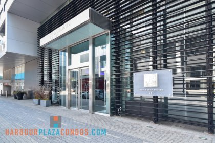 2nd Floor Skybridge Access To Maple Leaf Square Mall - Le Germain Hotel.