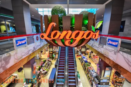 2nd Floor Skybridge Access To Maple Leaf Square Mall - Longo's.