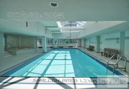 Indoor Pool & Jacuzzi Area.