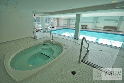 Indoor Jacuzzi & Pool Area.