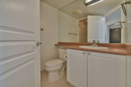 Main Bathroom With A 3-Piece & Separate Stand-Up Shower.