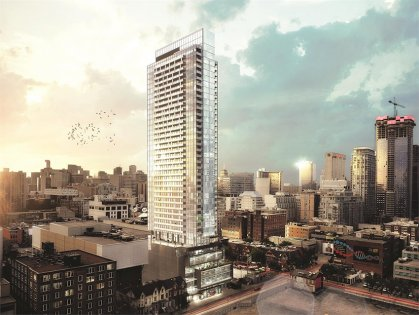 Welcome To The Bond Condominiums At 290 Adelaide Street West.