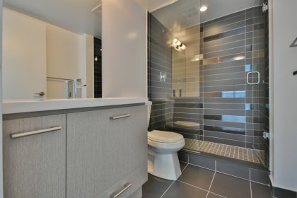 Master Ensuite With A 3-Piece Including A Frameless Glass Shower.