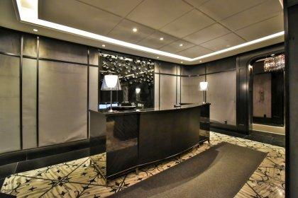 Ground Floor Concierge Desk.