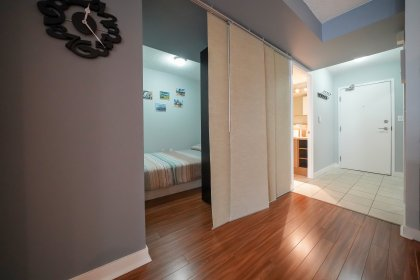 Separate Den Area Can Be Used As A Home Office, Dining Area Or 2nd Bedroom.