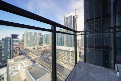Private Balcony With A CN Tower View.
