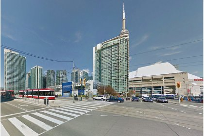 Rogers Centre - Located Directly Across The Street.
