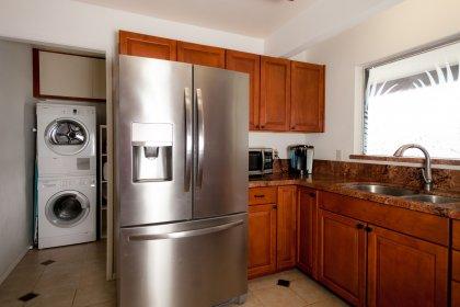 Kitchen/Landry room.