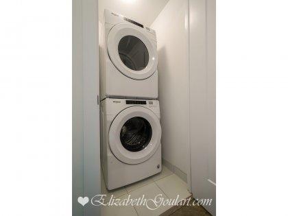 Ensuite Washer & Dryer.