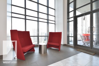 WestOne - Access To The 27th Floor Sky Lounge Party Room & Outdoor Terrace at 11 Brunel Court.