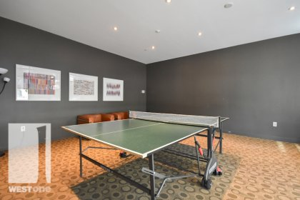 WestOne - Access To The Ping-Pong Area at 11 Brunel Court.