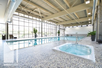 WestOne - Access To The Indoor Jacuzzi & Lap Pool at 11 Brunel Court.