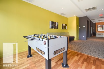 WestOne - Access To The Foosball Area at 11 Brunel Court.