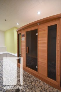 WestOne - Access To The  Sauna Area at 11 Brunel Court.