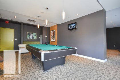 WestOne - Access To The Billiard Area at 11 Brunel Court.