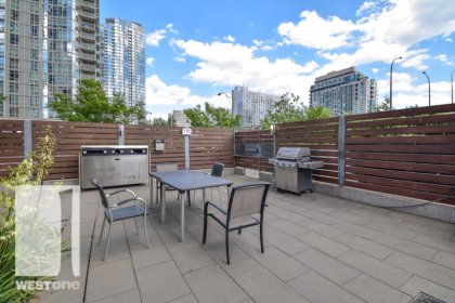 WestOne - Access To The Outdoor Barbecues & Dining Areas at 11 Brunel Court.