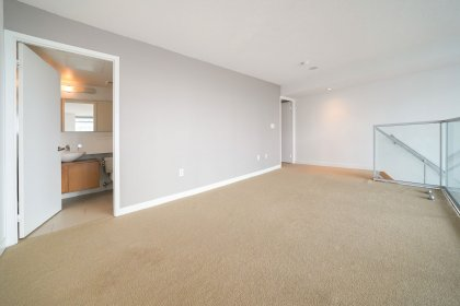 A Spacious Sized Master Bedroom With A 4-Piece Ensuite, Study Area, Walk-In Closet & Convenient Same Floor Laundry Access.