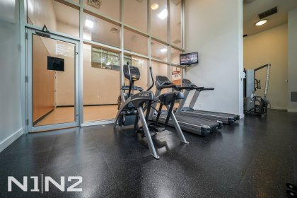 Lower Lobby Area - Fitness / Weight Area Amenities.