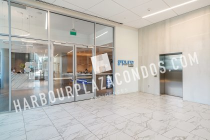 2nd Floor - Promenade Entrance To Harbour Plaza Condos, Pure Fitness Gym, Retailers & A Direct Underground PATH Connection.