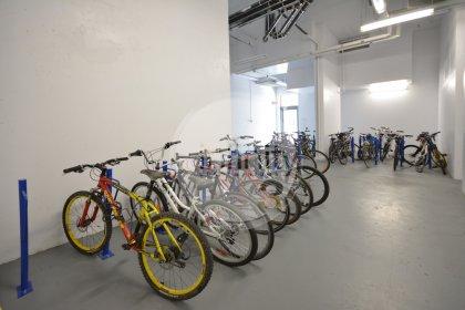 Ground Floor Access In Front Of Building - Bike Storage Area.