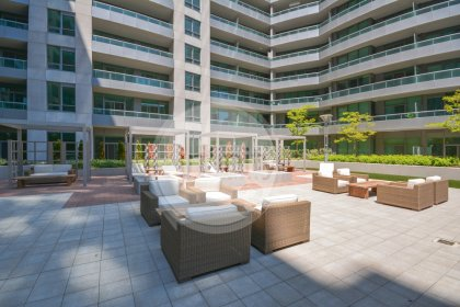 2nd Floor Amenities - An Outdoor Tanning Deck With Cabanas & Barbecues.