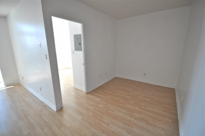 Large Den Area With Laminate Flooring Through-Out.