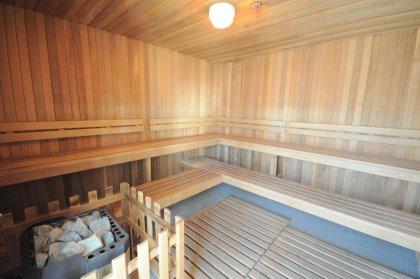 The Exclusive Roof Top Sauna Area.