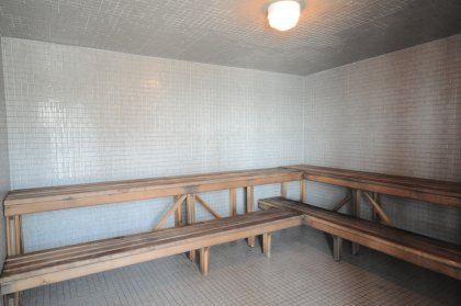 The Exclusive Roof Top Steam Room.