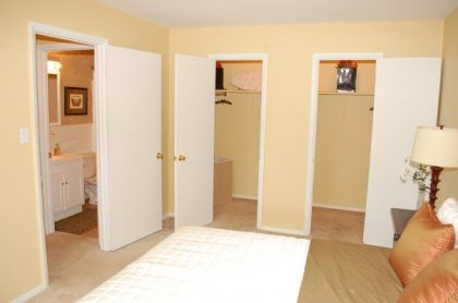 You won't believe the breath-taking closet space!