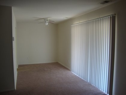 Separate from your living room and just next to your kitchen. So convenient!