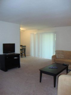 Wow! Hardly do you find a living room this big in an apartment home.