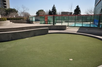 Outdoor Terrace, Pool & Putting Green Is Located On The 8th Floor.