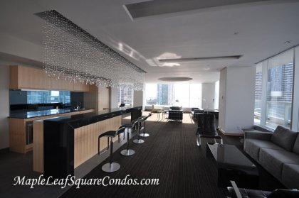 The Exclusive Party Room Onlooking Spectacular South Lake/Inner Harbour Views.
