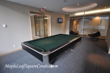 The Exclusive Billiard Room.