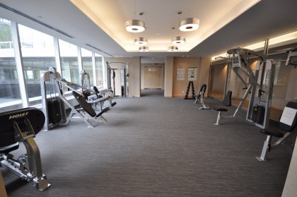 The Exclusive Gym & Fitness Room.