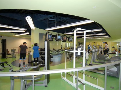 Fitness & Weight Area.