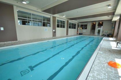 Indoor Lap Pool & Jacuzzi.