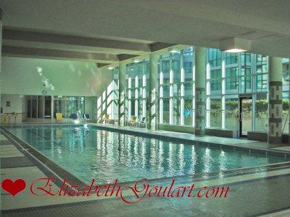 Indoor Pool With Jacuzzis.