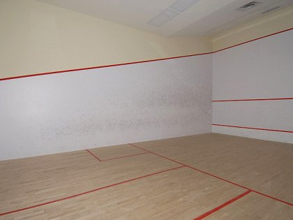 Indoor Squash Court.