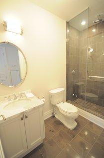 Bedroom Ensuite With Frameless Spa Shower.